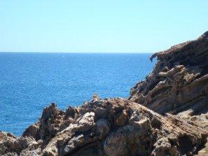 """Haciendo el amor mirando al mar ……, que va: """"follando como locos, tío"""""""