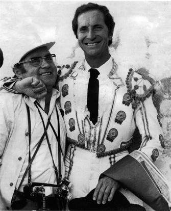 Paco Cano con Luis Miguel Dominguín
