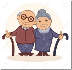 45507040-abuelos-imagen-del-vector-de-feliz-ancianos-en-estilo-de-dibujos-animados-foto-de-archivo
